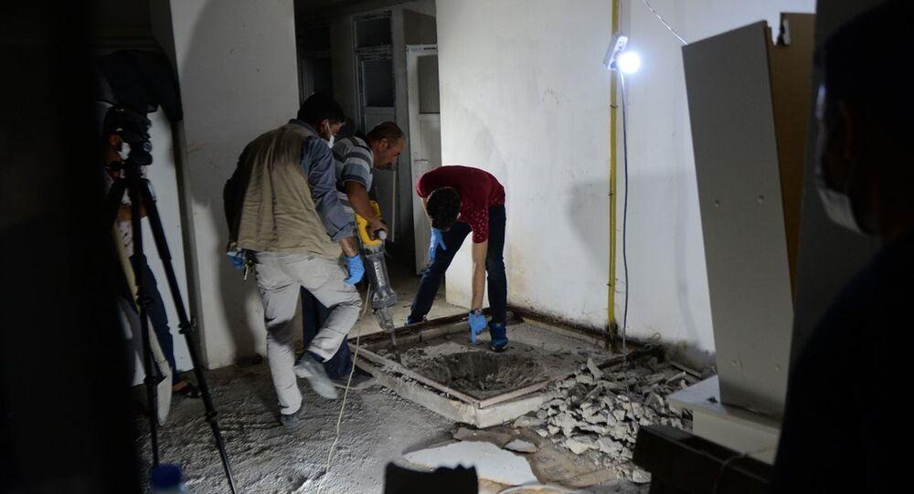 Kilis'te kayıp ihbarı yapılan Suriyeli kadının cesedi, yaşadığı apartmanın bodrum katında bulundu.