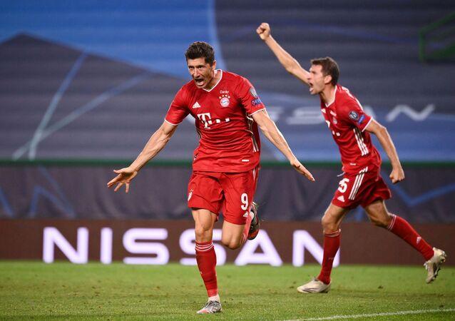 Bayern Munich oyuncusu Robert Lewandowski