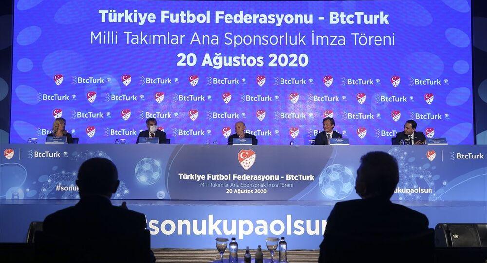 TFF ile BtcTurk arasında sponsorluk anlaşması