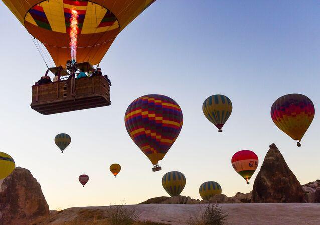 sıcak hava balon turları, Kapadokya