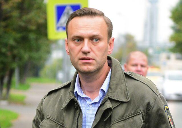 muhalif politikacı Aleksey Navalnıy