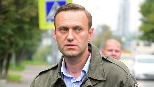 muhalif politikacı Aleksey Navalnıy  - Sputnik Türkiye