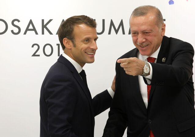 Emmanuel Macron, Recep Tayyip Erdoğan