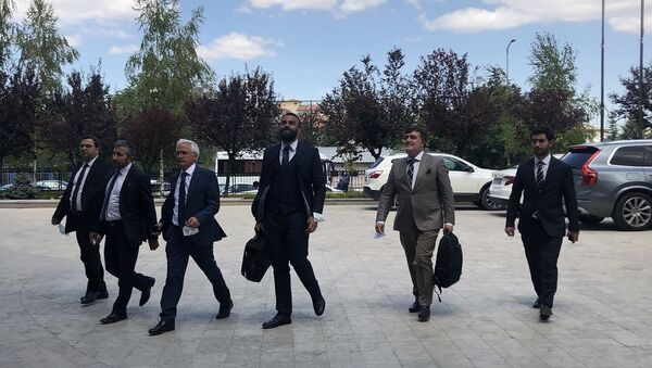 Ankara 2 No'lu Barosu kuruluş beyannamesi TBB'ye sunuldu - Sputnik Türkiye