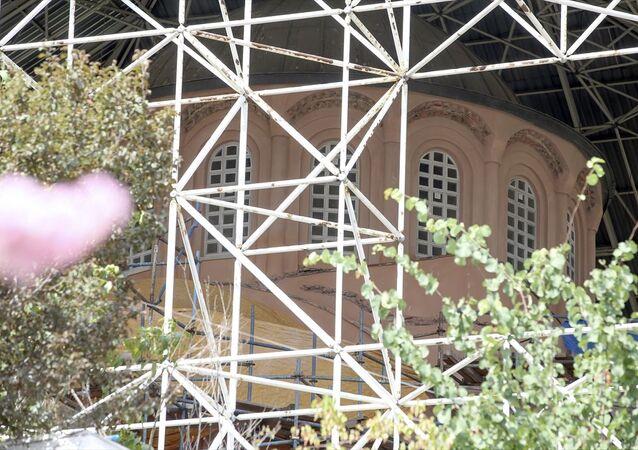 Kariye Camisi'nin ibadete açılması
