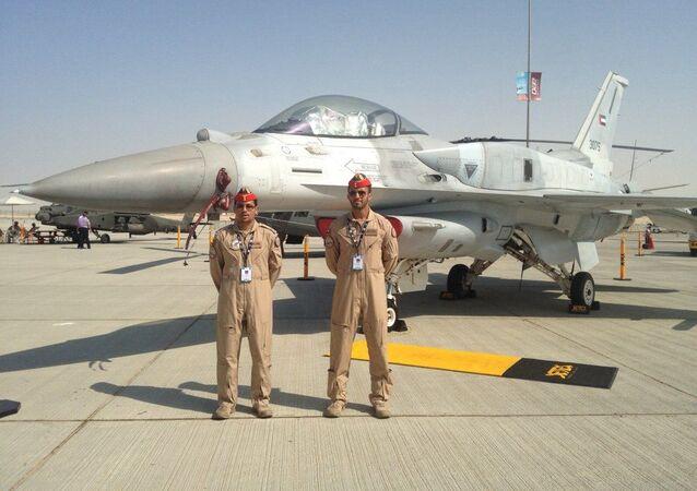 Dubai Airshow'da sergilenen BAE Hava Kuvvetleri için özel tasarlanmış F-16 Block 60 Çöl Şahini