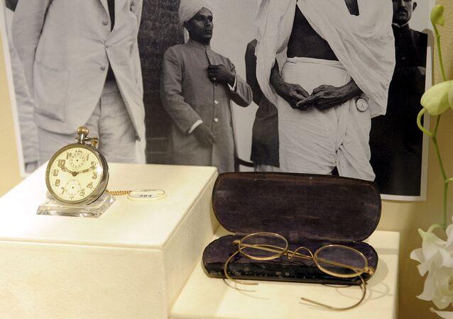 Gandhi'nin gözlüğü