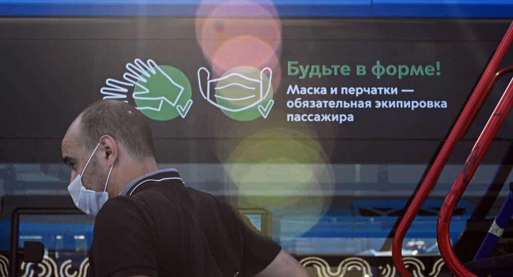 Rusya, koronavirüs, maske ve eldiven takma zorunluluğu