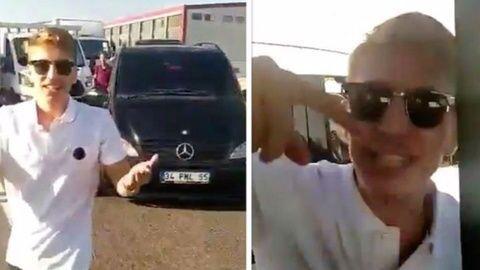 Hadımköy'de çakarlı aracıyla trafikte tartıştığı aracın önünü kesip sürücüsünü bıçaklayan saldırgan Muhammed Enes Uysal Avcılar'da yakalandı.