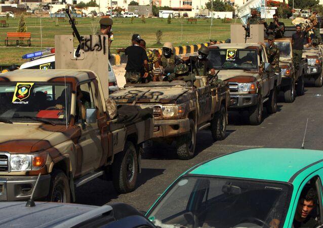 Halife Hafter liderliğindeki Libya Ulusal Ordusu