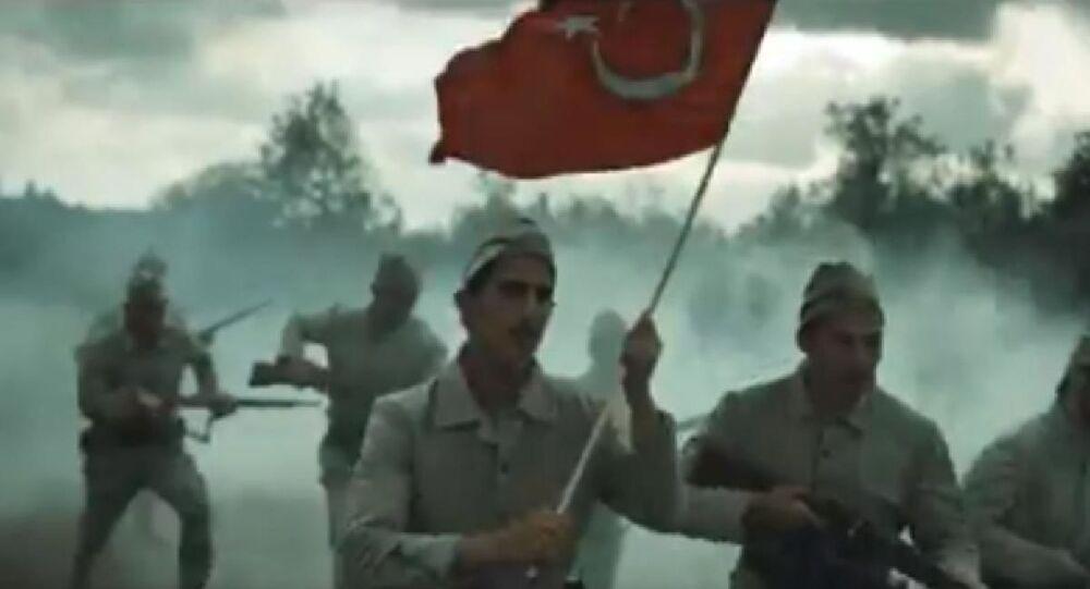 """İletişim Başkanlığı Malazgirt'in 949. yıldönümü dolayısıyla """"Kızıl Elma"""" marşı hazırladı"""