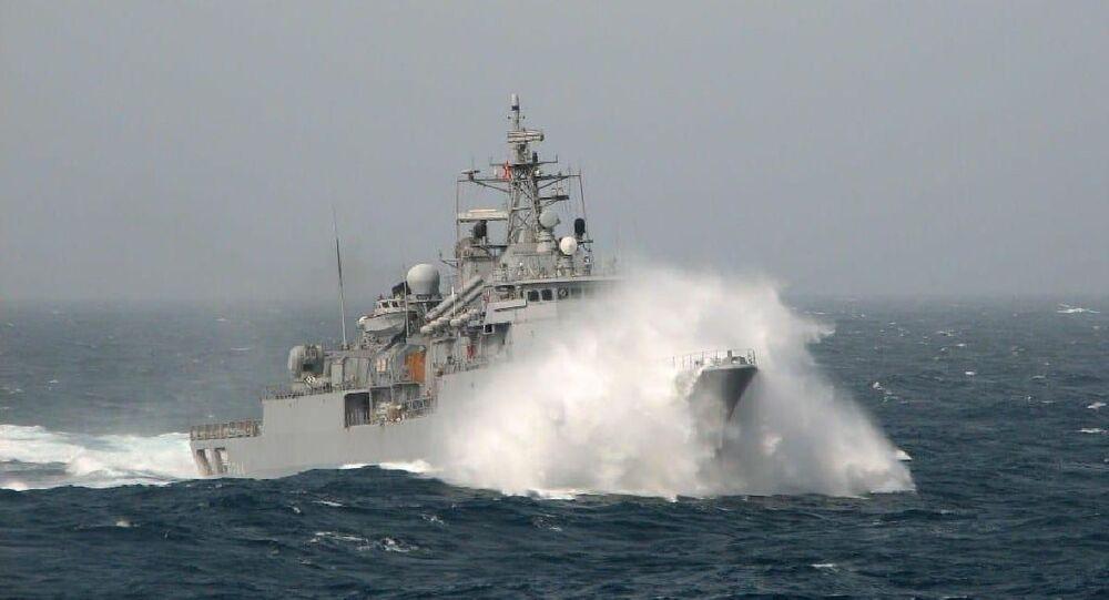 MSB'den Doğu Akdeniz açıklaması, Türk Deniz Kuvvetleri, Türk gemisi