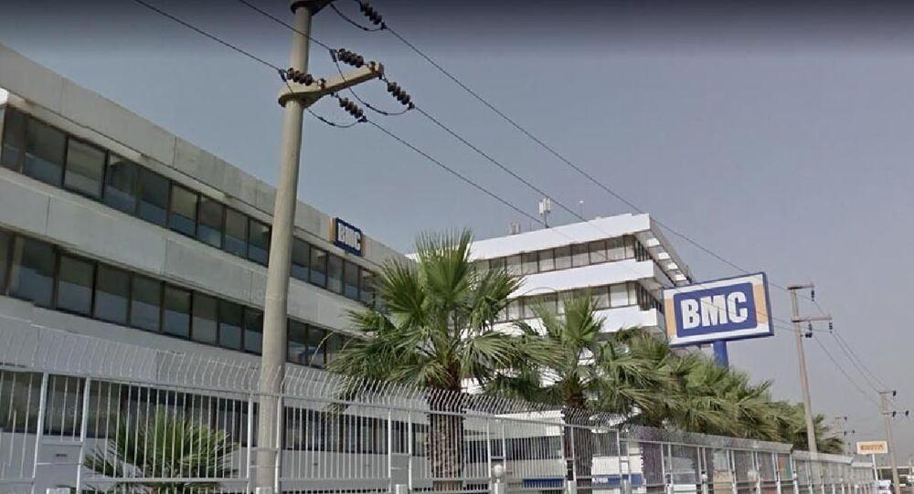 İzmir Pınarbaşı BMC fabrikası
