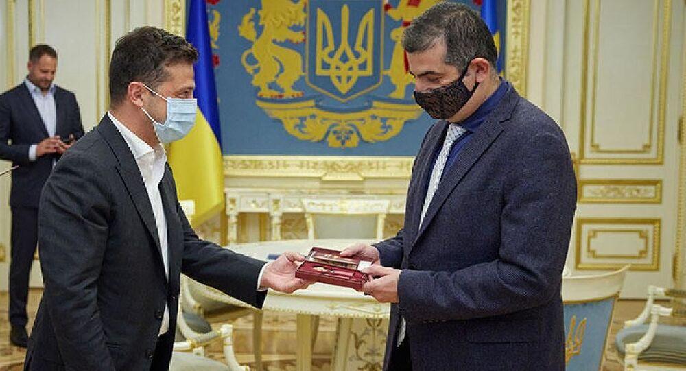 Ukrayna'dan Baykar Genel Müdürü Bayraktar'a devlet nişanı