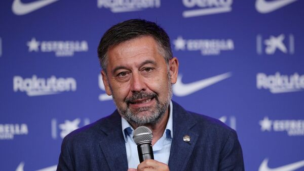 Josep Maria Bartomeu - Sputnik Türkiye