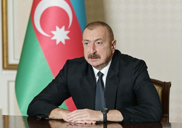 Azerbaycan Devlet Başkanı İlham Aliyev