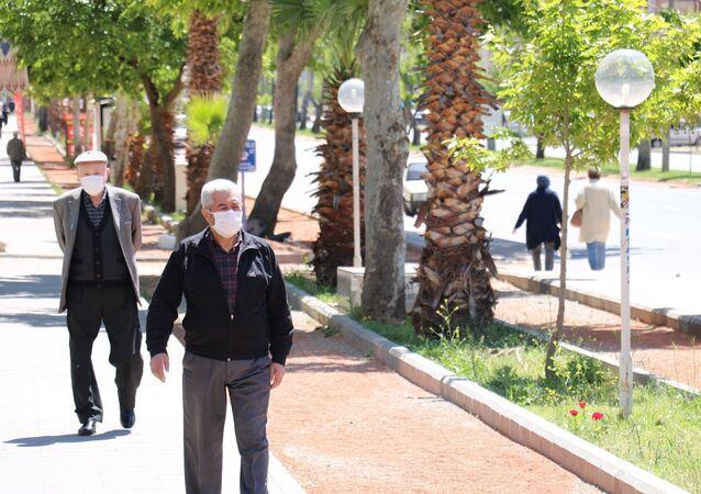 Kahramanmaraş - maske -  65 yaş ve üstündekiler