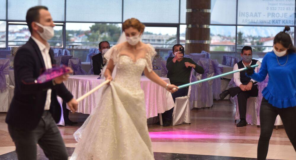 düğün - koronavirüs