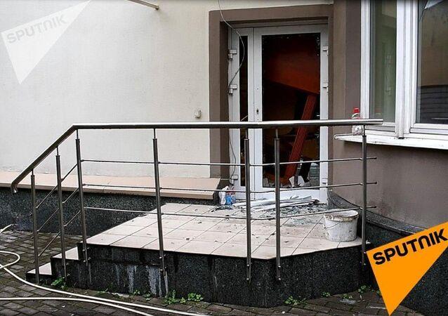Belarus'un başkenti Minsk'te yaklaşık 30 kişilik bir grubun Libya'nın Belarus Büyükelçiliği binasını ele geçirmeye çalıştığı belirtildi.