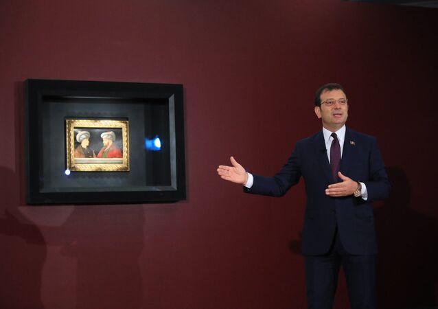 Ekrem İmamoğlu - Fatih Sultan Mehmet tablosu