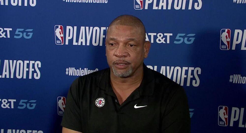 Los Angeles Clippers'ın Başantrenörü Doc Rivers