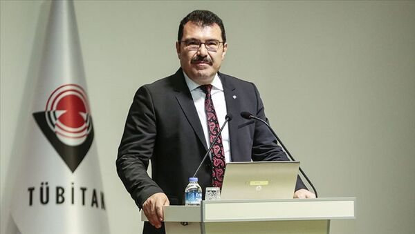 Türkiye Bilimsel ve Teknolojik Araştırma Kurumu Başkanı Prof. Dr. Hasan Mandal - Sputnik Türkiye