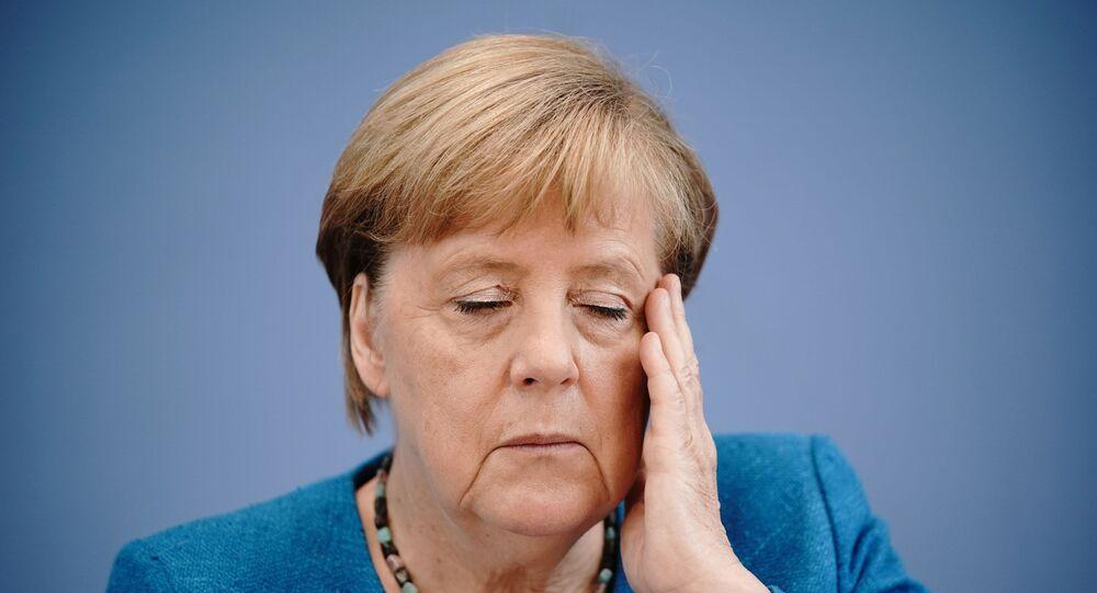 Son dönemde rahatsızlıklarıyla da gündeme gelen Almanya Başbakanı Angela Merkel, geleneksel yıllık yaz basın toplantısında soruları cevaplarken