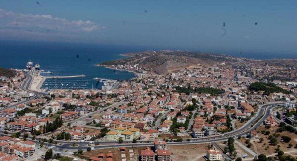 İzmir'in turistik ilçesi Çeşme