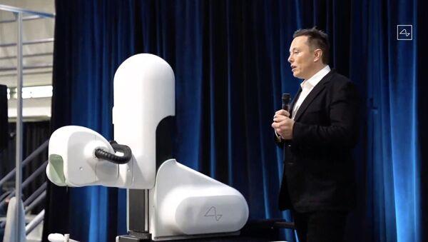 ABD'li girişimci Elon Musk'un Neuralink projesi - Sputnik Türkiye
