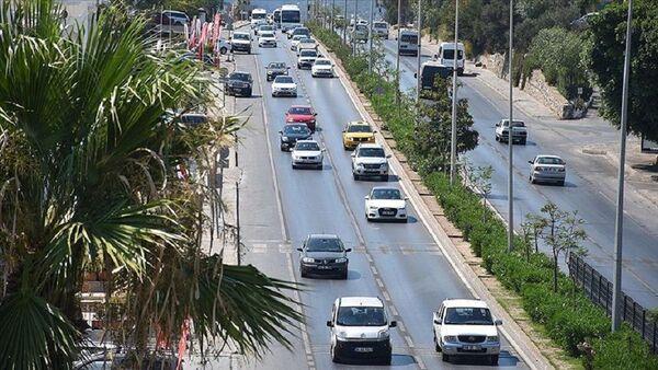 Araba, otomobil, araç, trafik - Sputnik Türkiye