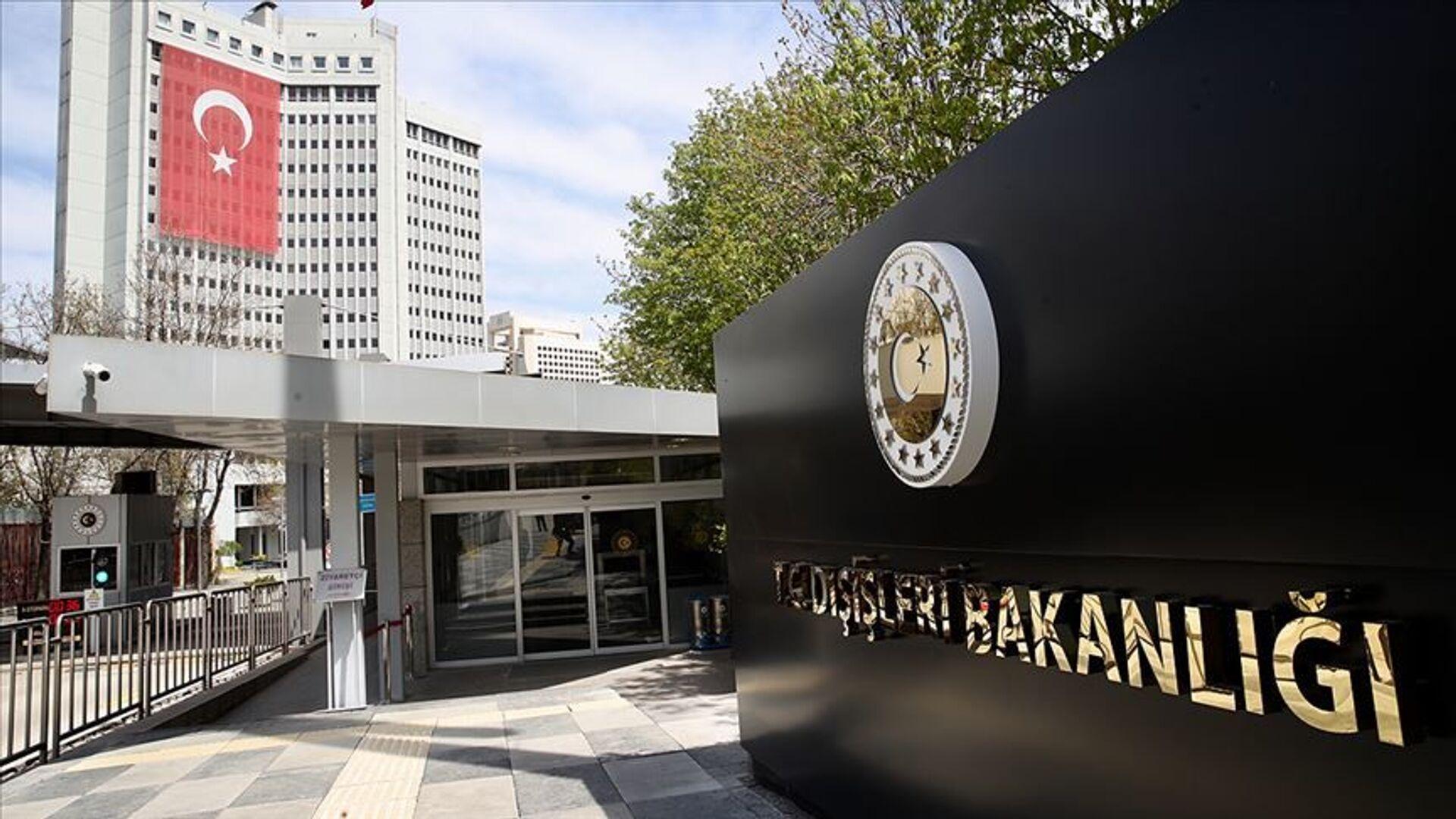 Dışişleri Bakanlığı binası Türkiye - Sputnik Türkiye, 1920, 20.04.2021