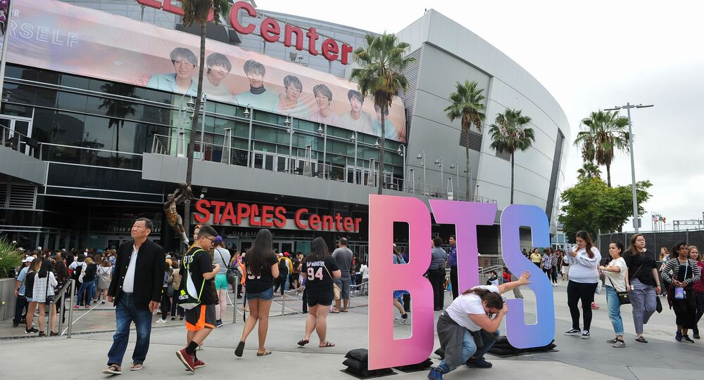 BTS- ABD konseri