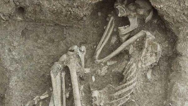 Bilecik'te bulunan 8 bin 500 yıllık insan iskeletinin DNA'sı incelenecek - Sputnik Türkiye