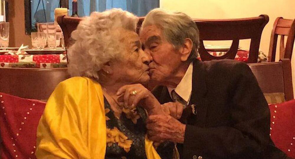 79 sene birlikte olan çift dünyanın en yaşlı çifti olarak kabul edildi
