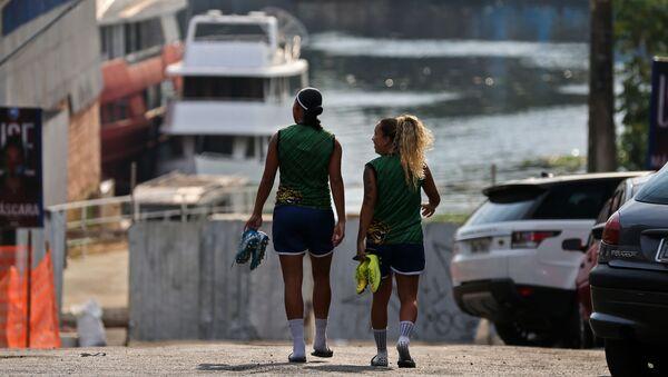 Brezilya-kadın futbol oyuncusu - Sputnik Türkiye