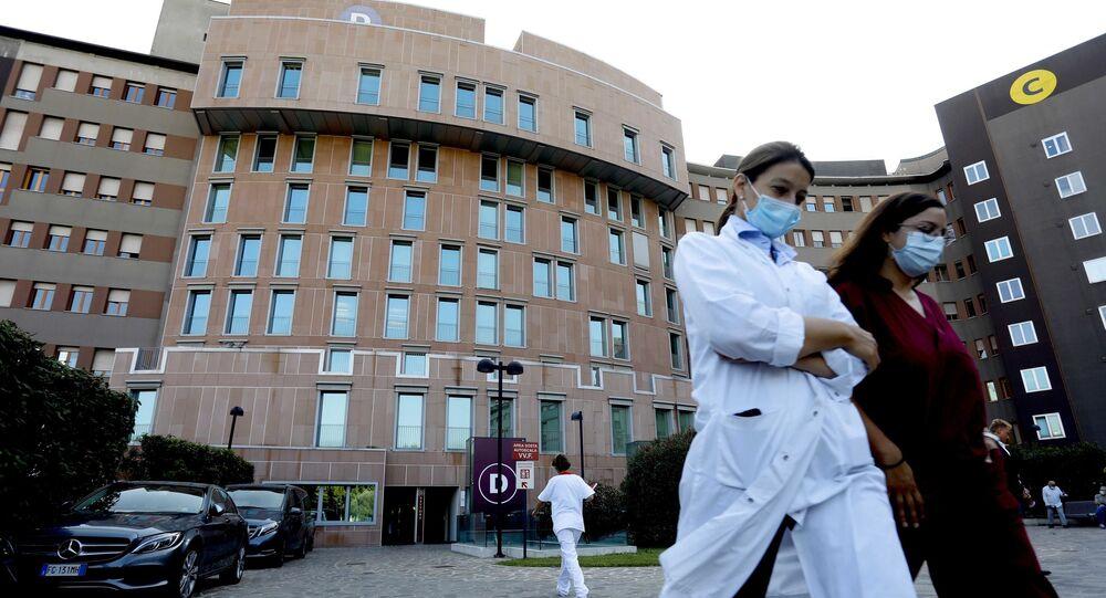 İtalya koronavirüs maske