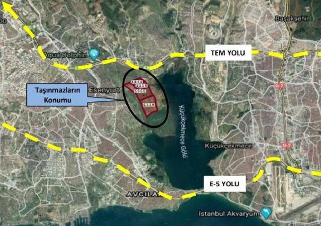 Emlak Konut, Kanal İstanbul güzergahında 2 milyon metrekarelik arazi aldı