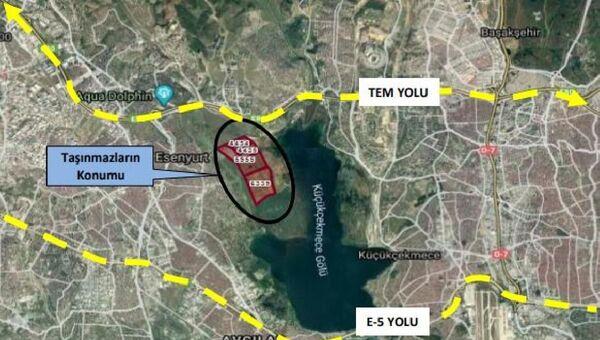 Emlak Konut, Kanal İstanbul güzergahında 2 milyon metrekarelik arazi aldı - Sputnik Türkiye