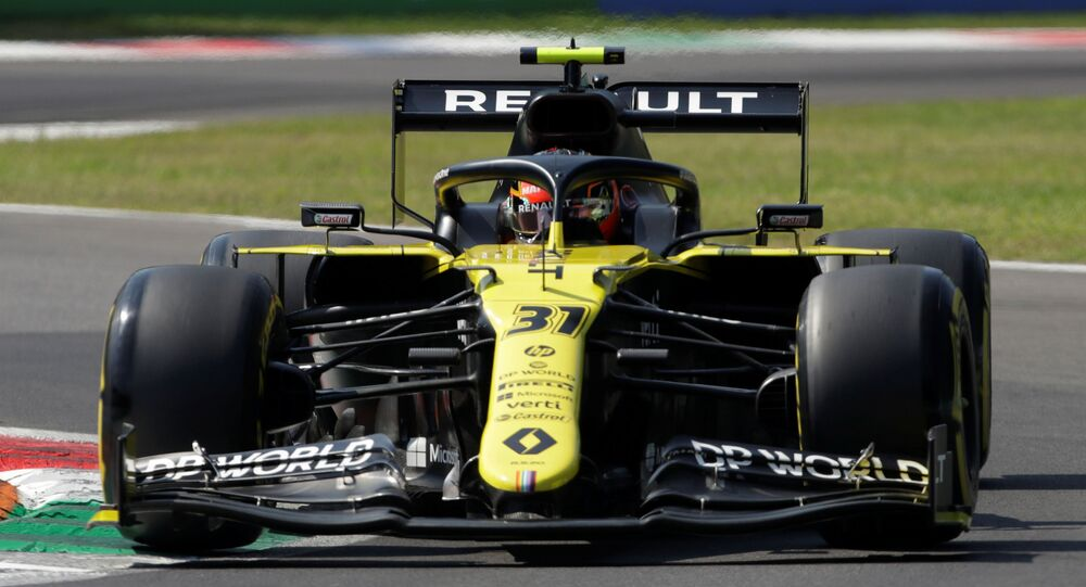 Renault- İtalya Grand Prix'si