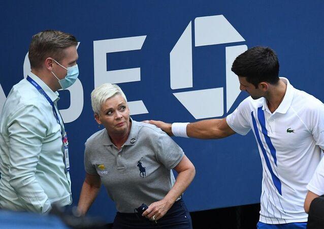 ABD Açık'ta Djokovic diskalifiye edildi