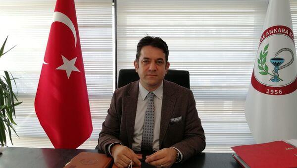 Ankara Eczacı Odası Başkanı Taner Ercanlı - Sputnik Türkiye