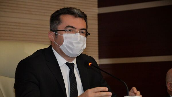 Erzurum Valisi Okay Memiş - Sputnik Türkiye
