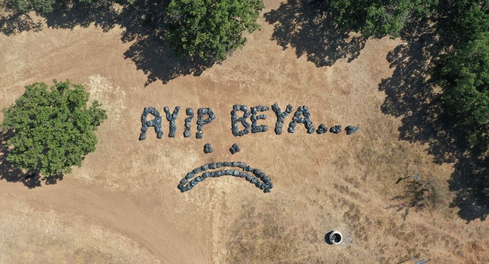 Piknik alanında 150 torba çöp toplayan Lüleburgaz Belediyesi: Ayıp beya