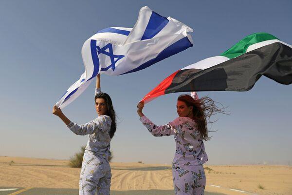 BAE, 1979'da Mısır'ın ve 1994'te Ürdün'ün ardından İsrail ile normalleşme anlaşmasına varan üçüncü Arap ülkesi oldu. - Sputnik Türkiye