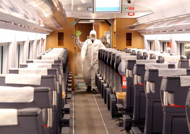 Ankara - tren - koronavirüs