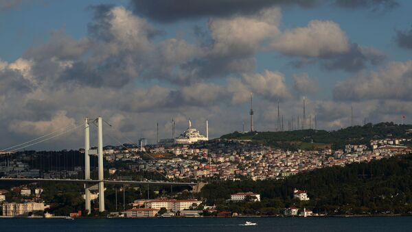 İstanbul-Çamlıca-Boğaz-Köprü - Sputnik Türkiye
