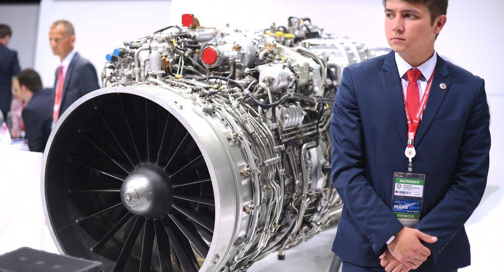 RD-33MK uçak motoru