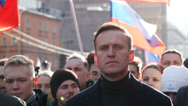 Rus muhalif lider Aleksey Navalnıy - Sputnik Türkiye