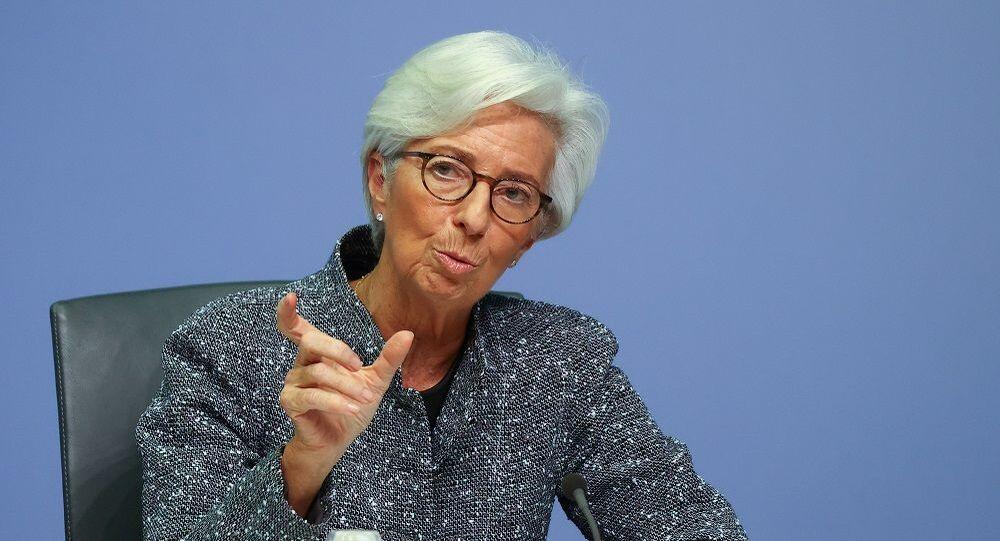 Avrupa Merkez Bankası (ECB) Başkanı Christine Lagarde