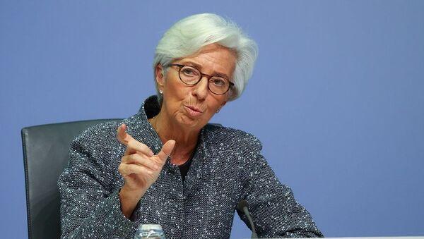 Avrupa Merkez Bankası (ECB) Başkanı Christine Lagarde - Sputnik Türkiye